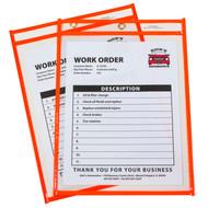 Neon Shop Ticket Holder Orange Box #15