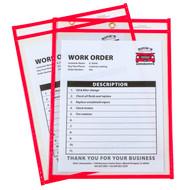 Neon Shop Ticket Holder Red Box #15