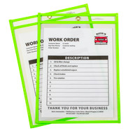 Neon Shop Ticket Holder Green Box #15