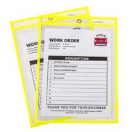 Neon Shop Ticket Holder Yellow Box #15