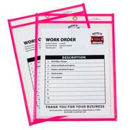 Neon Shop Ticket Holder Pink Box #15