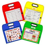 Portable Dry Erase Pocket (4 Pack)