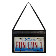 Stitched License Plate Holder w/ Hanging Strap (#2 Protectors)