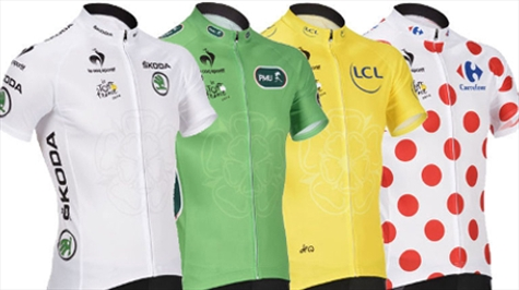 Tour de france jersey colors