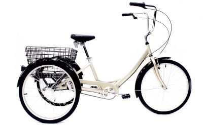 Manhattan Cruisers | Manhattan Trike | Specialty Bike | Alloy | Champagne