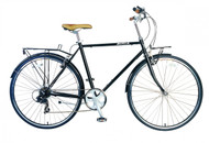 Biria | Citibike 700C Diamond 8 Speed | 2019 | Black