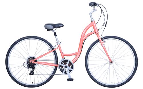 KHS | Brentwood Ladies  | Urban City Bike | 2019 | Coral