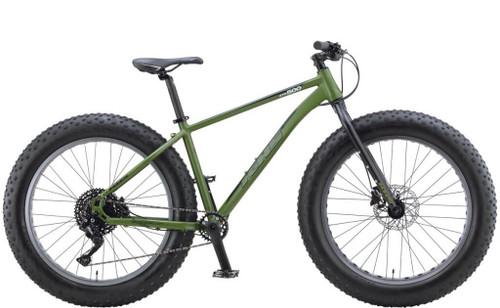 KHS | 4 Season 500 | Fat Tire Mountain Bike | 2019 | Matte Army Green