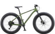 KHS | 4 Season 500 | Fat Tire Mountain Bike | 2019 | Matte Army Green
