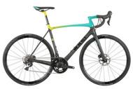 Masi | Evoluzione Ultegra | Road Bike | 2019 | Teal/Fluorescent Fade/Carbon