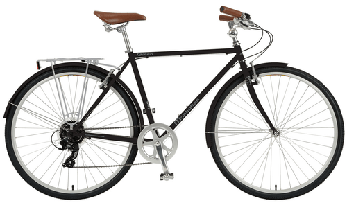 Manhattan Cruisers | Green 8e | Urban City Bike | 2019 | Black