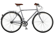 Manhattan Cruisers | Green 3 Mens | Urban City Bike | 2019 | Matte Silver