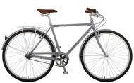 Manhattan Cruisers | Green 3 Mens | Urban City Bike | 2019 | Matte Silver