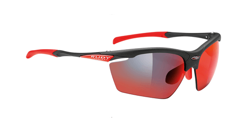 Rudy Project | Agon | Protective Gear | 2019 | Graphite | Multilaser Red