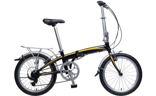 KHS | F20A-H7 | Folding Bike | 2019 | Black