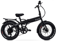 Elux Electric | Sierra Folding Bike | 2019 | Matte Black | No Rack