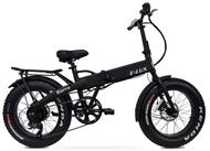 Elux Electric   Sierra Folding Bike   2019   Matte Black   No Rack