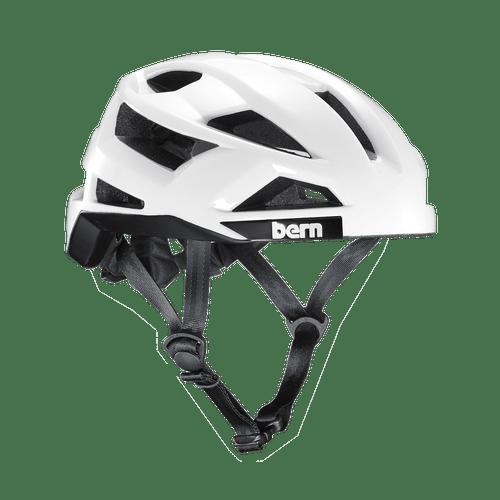 Bern | FL-1 Pave | Adult Helmet | 2019 | White - Gloss White