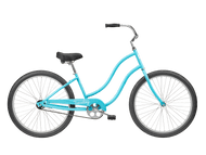 Tuesday | June 1 LS | Womens Cruiser | 2019 | Surf Blue
