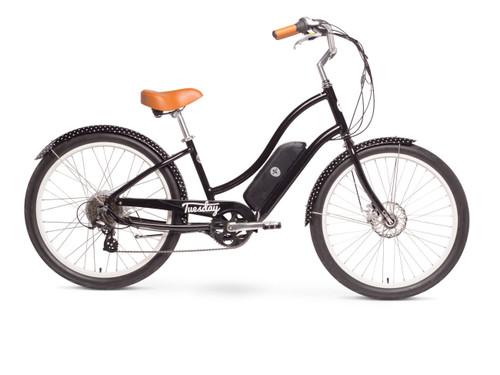 Tuesday | August Live! LS (E-bike) | Womens Electric Cruiser Bike | 2019 | Black