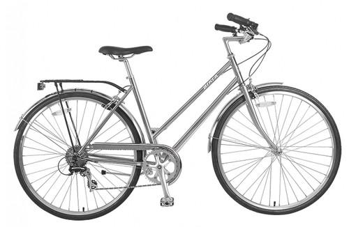Biria   Citi Classic ST e8   Hybrid Bike   2019   Nickel Silver