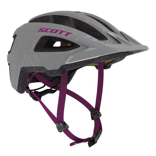 Scott | Groove Plus Helmet | Protective Gear | 2020 | Grey/Ultra Violet