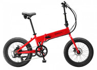 Biria Electric | Folding Bike | 2019 Red