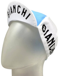 Bianchi | Blue / White Eroica Cycling Cap | Apparel | 2019