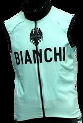 Bianchi | Team Wind Vest | Apparel | 2019 | Celeste