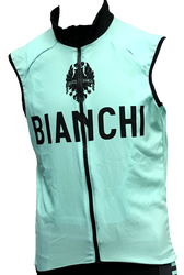 Bianchi | Team Wind Vest | Apparel | 2020 | Celeste