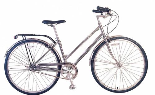 Biria | Citi Classic ST i3 | Urban City Bike | 2019 | Nickel Silver | Sale