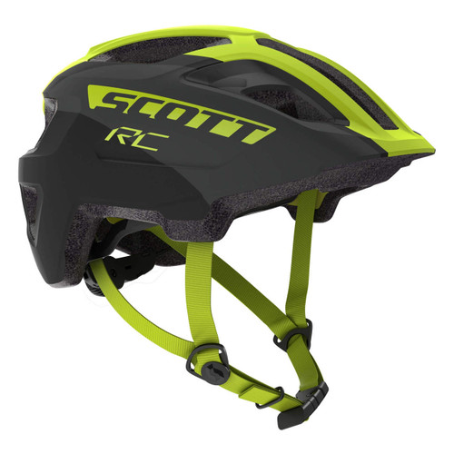 Scott | Spunto Junior Plus Helmet | Kids Helmet | 2020 | Black/Yellow RC