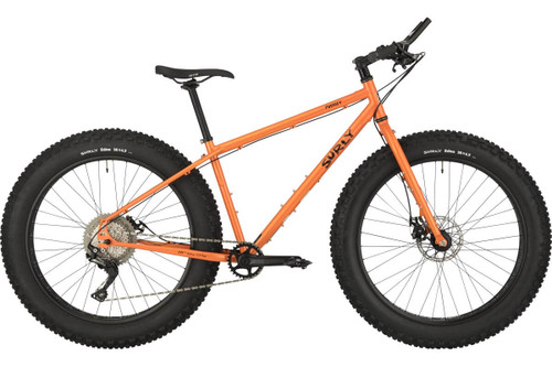 Surly | Pugsley | Fat Tire Mountain Bike | 2019 | Candied Yam Orange