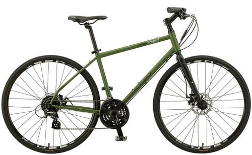 KHS | Urban Xcape | Urban City Bike | 2019 | Matte Army Green