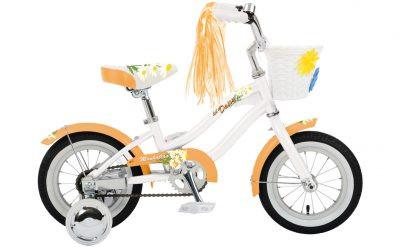"Manhattan Cruisers | Lil' Daisy 12"" | Kids Bike | 2019 | Pearl w/Creamsicle"