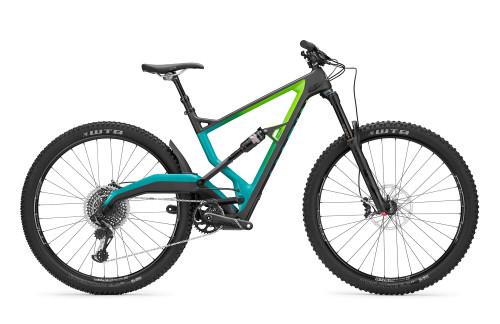 Marin | Wolf Ridge 9 | Mountain Bike | 2019 | Satin Carbon/Green-Teal Fade