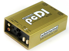 Whirlwind pcDI - This is perfect for interfacing the outputs of CD players, computer sound cards, iPODs® / MP3 players, tape decks, etc. with professional, balanced, low impedance equipment.