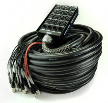 Whirlwind SNK-16-4-XL-100 - 16 INPUTS : 4 RETURNS : 100' cable length. Connect Series Whirlwind Multicore. Whirlwind designed their new Connect Series snakes with many of the same features found in our world famous Medusa® Standard snakes
