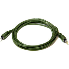 M3101 - Whirlwind 1' RCA Cable Green - New Old Stock