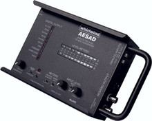 Whirlwind AESDA - Portable AES Digital to Analog Converter provides extremely high quality AES Digital to Analog conversion while providing diagnostic analysis of the incoming digital signal to help in troubleshooting signal faults.