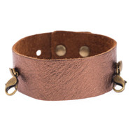 Lenny and Eva Thin Cuff in Bronze