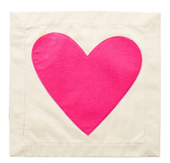 Nora Fleming Pillow Panel - Heart