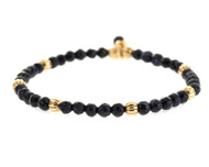 Lenny and Eva Refined Beaded Bracelet - Blue Goldstone