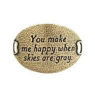 Lenny and Eva Trousseau Sentiment - You make me happy when skies are gray -