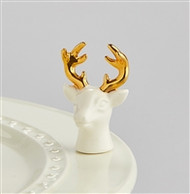 Nora Fleming Oh, Deer! Stags Head Mini