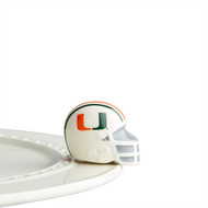 Nora Fleming Miami Helmet Mini
