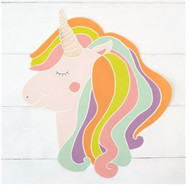 Hester and Cook - Unicorn Die-Cut Paper Placemat Sheets