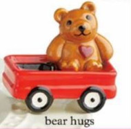 Bear Hug Mini, Nora Fleming will donate $9.00 to St. Judes Childrens Research Hospital for every Mini Purchased.