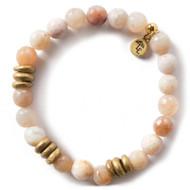 NEW: Lenny and Eva Rainbow Agate Gemstone Bracelet, 8mm