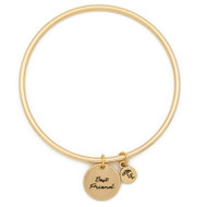 "Lenny & Eva Token Bangle Bracelet, ""Best Friend"""
